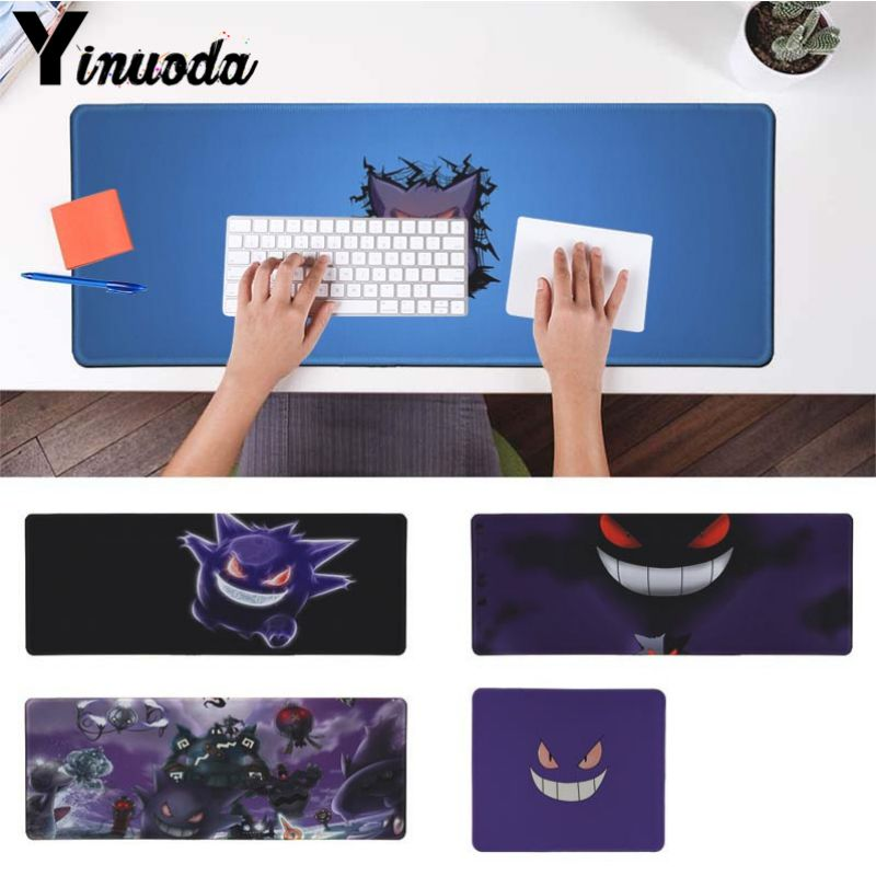 Yinuoda 2018 New Pokemons Go Gengar Sinister Nebula Large Mouse pad PC Computer mat Size for 250*290 300*900 400*900cm ...