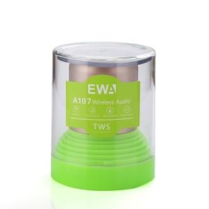 Image 5 - EWa A107 Speaker For Phone/Tablet/PC Mini  Wireless Bluetooth Speaker TWS Interconnect Technology Small Portable Speaker