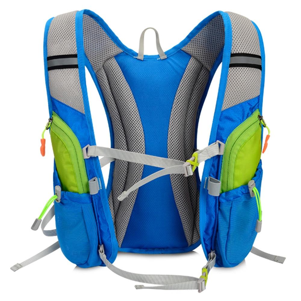 Sport & Unterhaltung Lauf Marathon Tasche Tanluhu 675 Nylon Radfahren Rucksack Für 2l Wasser Tasche Im Freien Klettern Wandern Tasche