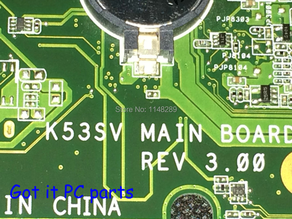 NEW !!! Free Shipping K53SV REV : 3.0 Main board Compatible for ASUS Notebook PC