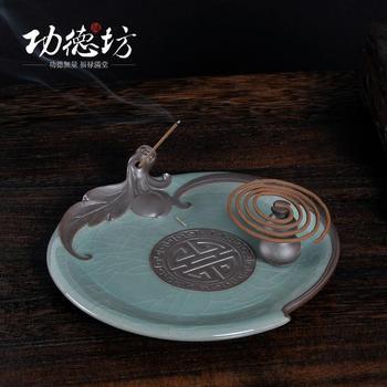 Fushousuangquan joss палочки с ладаном катушки масляной горелки печи летучая мышь высокого класса чай ладана сандалового дерева дома печи