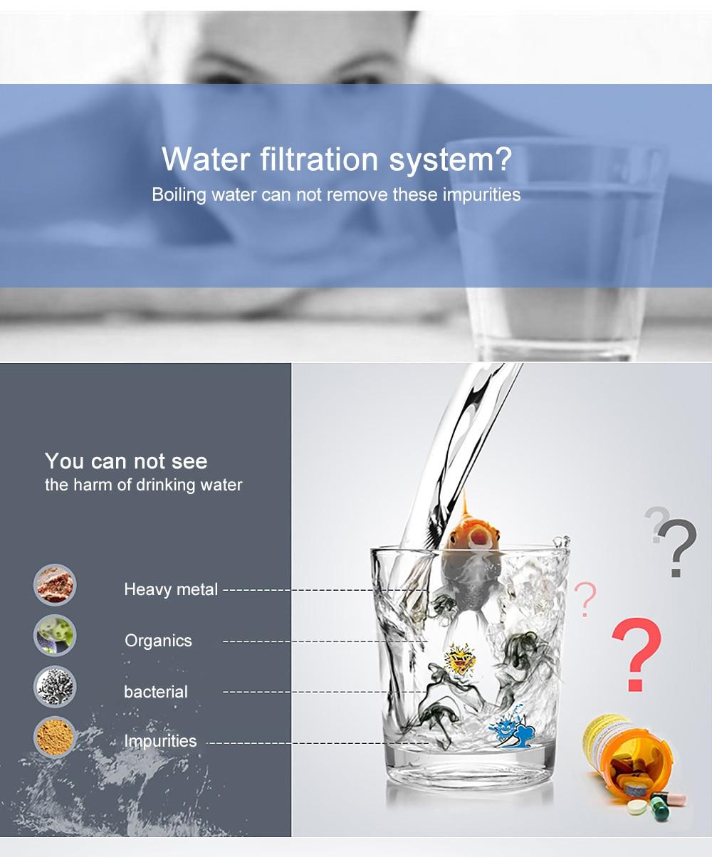 Housing Use Pure Water Distiller 4L Distilled Water Machine Distillation Purifier Stainless Steel Water Filter Russian Manual - 5