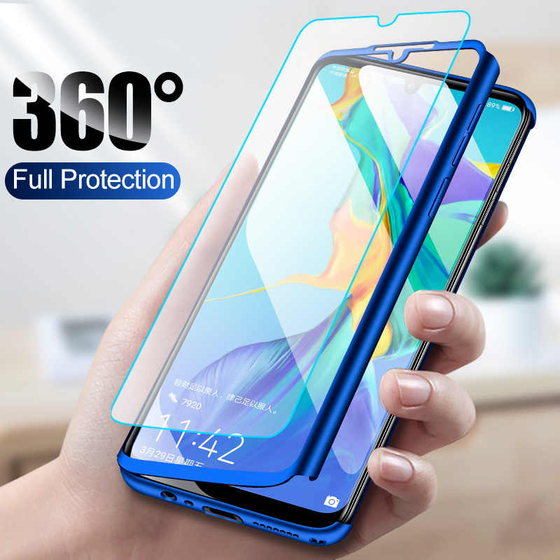 360 Degrees Full Shockproof Case For Huawei P30 P20 Pro Shell Hard PC Cover Cases For Huawei P10 P20 P30 Lite Phone Case P30