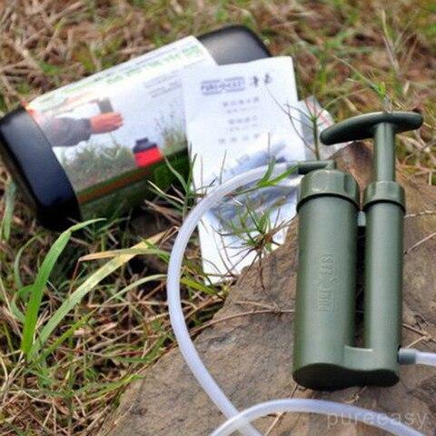 filtro de agua portatil ao ar livre