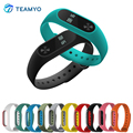 Silicon Strap for Xiaomi Mi Band 2 Miband 2 Accessories Wristband Replacement Belt