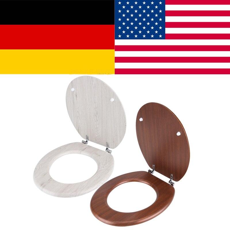 Туалет тихой крышка Ванная комната отель мест красно-коричневый унитаза атлет унитаза cubre wc desechable