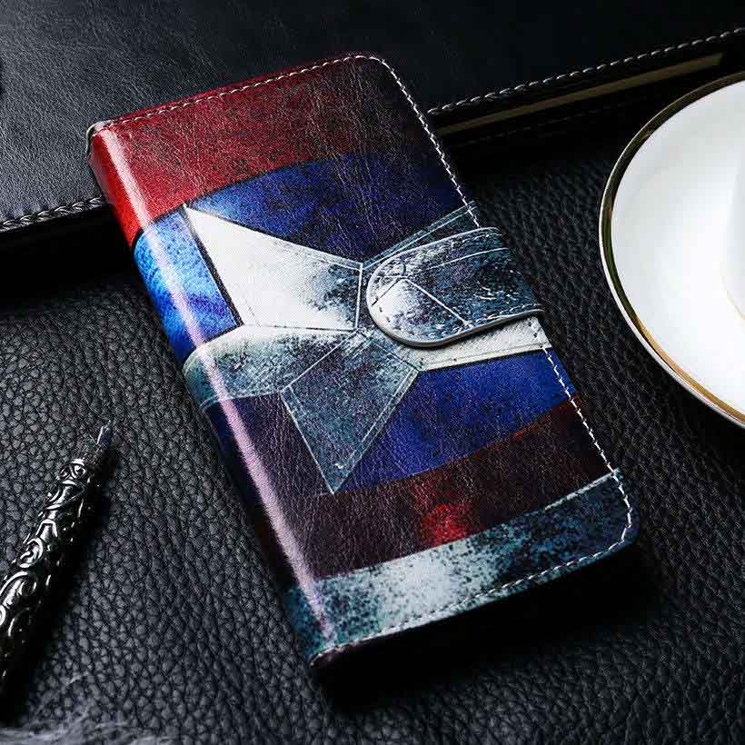 Flip PU Leather Cases For Huawei P20 Lite P30 Case Painted Wallet Cover For Huawei Mate 20 Pro Mate20 P20Lite Nova 3E Case in Flip Cases from Cellphones Telecommunications