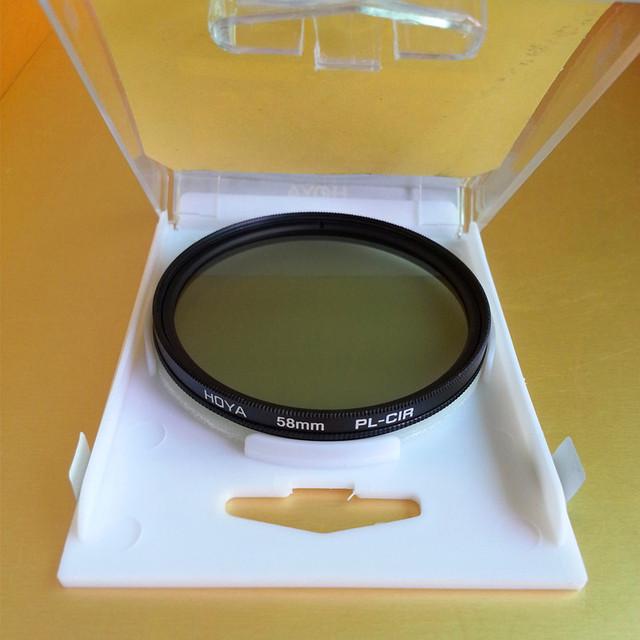 New Hoya CPL Filter 40.5mm 43mm 46mm 49mm 52mm 55mm 58mm 62mm 67mm 72mm 77mm 82mm Circular Polarizer CIR-PL Slim For Camera Lens