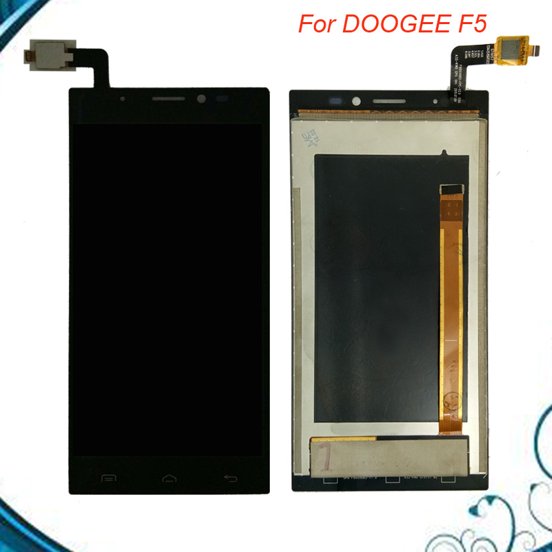 100% Tested OK For Doogee F5 LCD Display+Touch Screen Digitizer Assembly Replacement IN Stock