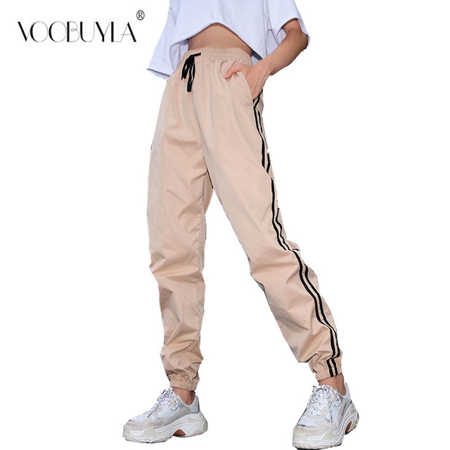 d0cfa43fe Voobuyla Autumn Women Running Pants Gym Athletic Sport Pants Training  Workout Fitness Lady Pants Trousers Jogging Sport Trousers