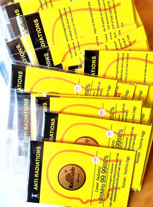Image 3 - 24gold radisafe anti radiation sticker