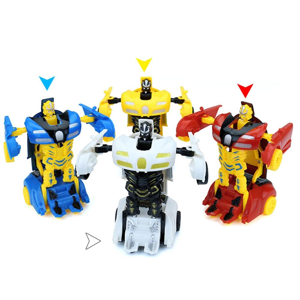 Image 4 - LeadingStar Mini Cartoon Deformation Car Inertial Transformation Robots Toys for Children zk25-in Diecasts & Toy Vehicles from Toys & Hobbies