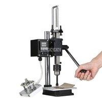 JXY SD160B máquina de bronzeamento do furo do losango máquina de perfuração do desktop imprensa de gilding máquina de pressão de calor de carimbo quente gilder da imprensa|Conjuntos ferramenta manual| |  -
