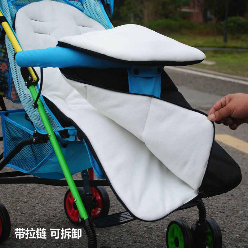 冬厚く暖かいベビーカー寝袋新生児足のためのプラム車椅子ベビーカーアクセサリーベビー寝袋