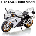 1:12 Alloy motorcycle model , high simulation metal casting motorcycle toys,GSX-R1000, free shipping