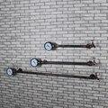 Criativo Prateleiras Prateleiras Cabides de Roupas Cabide de Ferro Da Tubulação Da Tubulação Moda Retro para fazer a Velha Parede Pendurado Prateleira de parede Z13