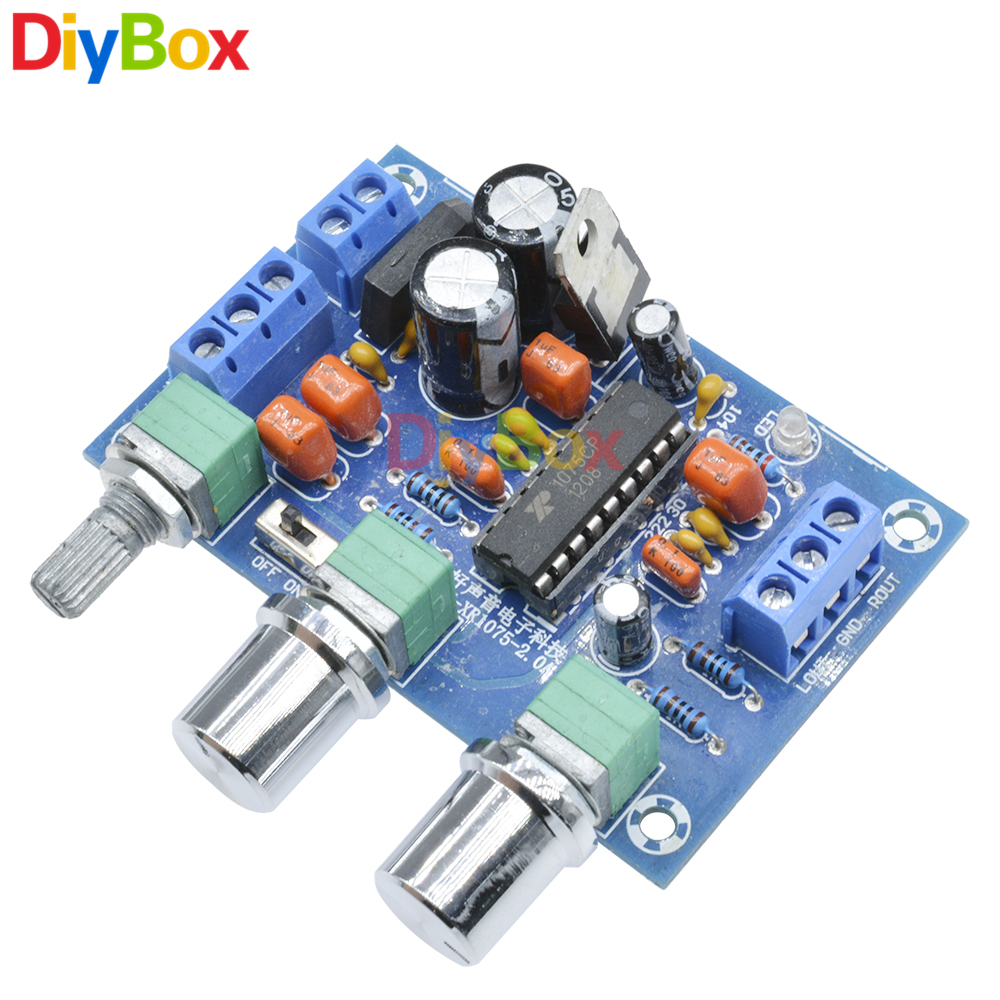 Finished Lm4610 3d Surround Volume Tone Control Board Bass Treble Class D Amplifier Circuit Lm1036 Controlled Irs2092 Xr1075 12v Preamp Bbe Sound Preamplifier Effect Audio Module