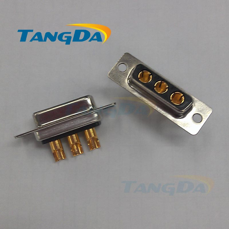Tangda big High current connector 3 core 3p welding wire 3W3 pin 3V3 DB female connector plug D-SUB Socket  3pin professional welding wire feeder 24v wire feed assembly 0 8 1 0mm 03 04 detault wire feeder mig mag welding machine ssj 18