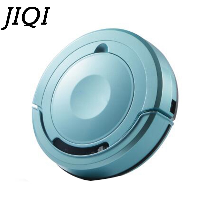 JIQI Automatic Sweeping Vacuum Cleaner Robot Wireless Sweeper Mop Dust Collector Catcher Aspirator Planned Washing Mopping EU US