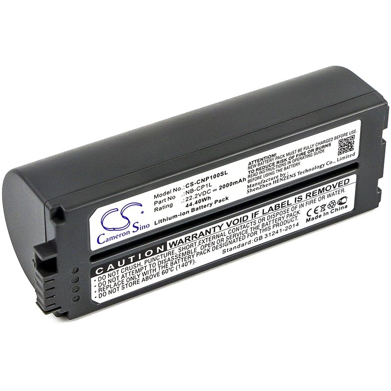 Cameron Sino Battery For Canon Selphy CP- 500, Selphy CP-100, Selphy CP-1000