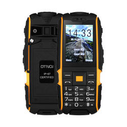 DTNO.I A9 mobile phone IP67 Waterproof shockproof phone Dual SIM cell phone 4800mAh Wireless FM flashlight with Russian keyboard