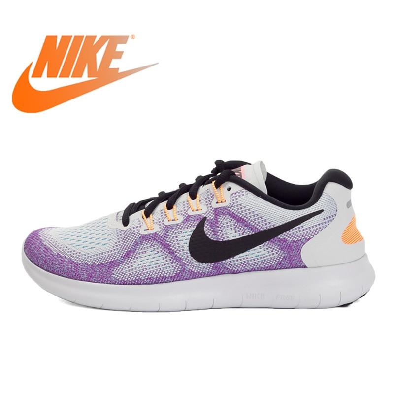 Оригинальный Официальный NIKE WMNS NIKE FREE RN женские кроссовки для бега теннисные кроссовки женские кроссовки спортивные уличные беговые кроссо