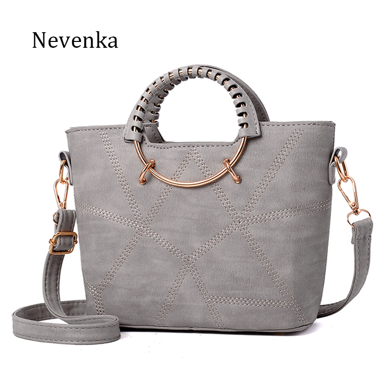 Nevenka Fashion Women Bag Brand Name Tote Pu Leather Handbags Casual Crossbody Bag Ladies Style Evening