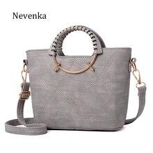 Nevenka Modefrauentasche Marke Tote Pu-leder Handtaschen Lässig Umhängetasche Damen Stil Abendtaschen Reißverschluss Frische Sac