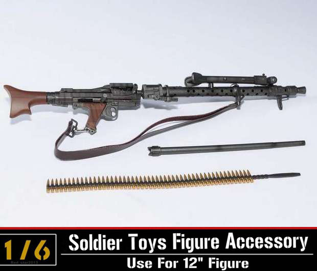 Escala 1 6 máquina de luz armas Modelo de la Segunda Guerra Mundial ... 8e20c12967d