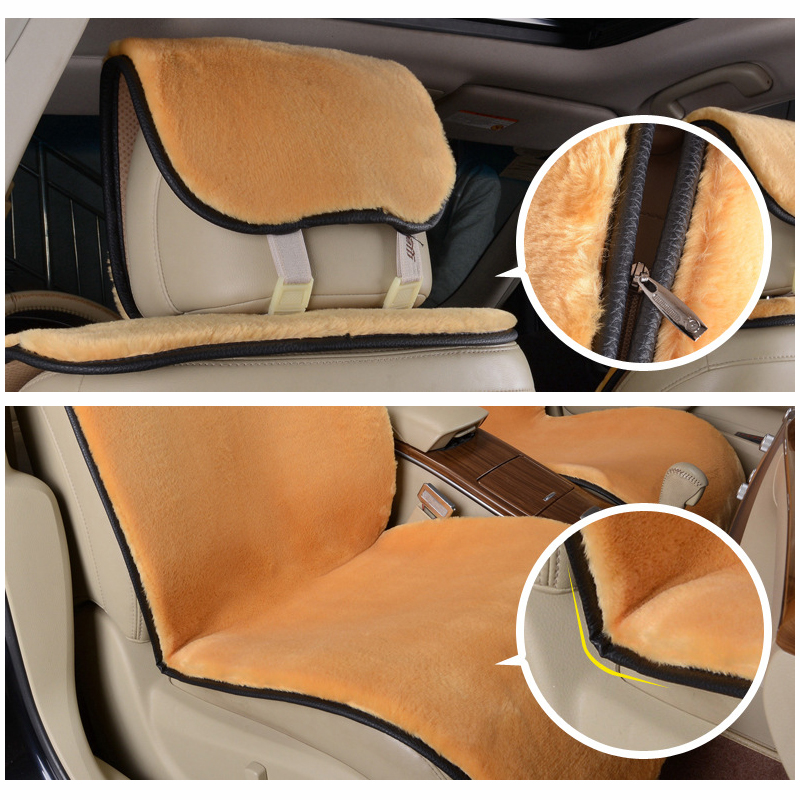 Image 5 - Supply New winter Car Short plush Cushion / Car Seat Cover Plush Seat Pad Wool Mat-in Automobiles Seat Covers from Automobiles & Motorcycles