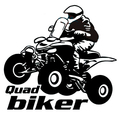 Стайлинга автомобилей Автомобилей decal прохладный мотоциклов байкер quad мотоцикла тележки автомобиля мотоциклов винил водонепроницаемый наклейки для ford Chevrolet