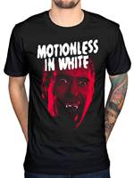 Motionless In White Dracula Official Mens New Black T Shirt Metal Rock Indie
