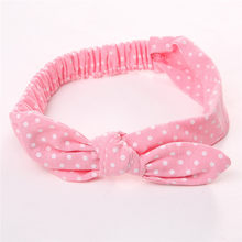 Baby Kids Girls Sister Infant Flower Bow Hairband Turban Knot Rabbit Headband Toddler Floral Headwrap Casual(China)