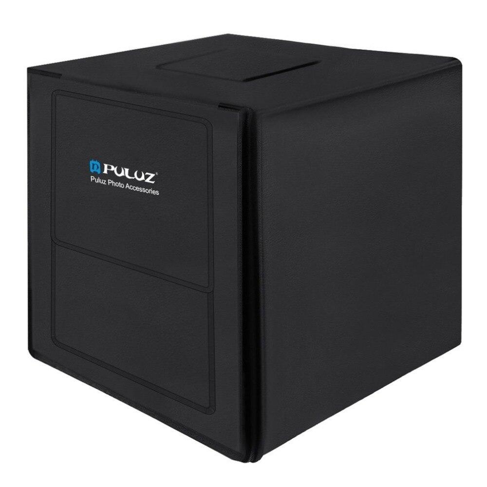 PULUZ 80 cm Photo Studio Softbox UE Plug Lightbox Blanc Lumière Photo Éclairage Studio Tir Tente Box Kits & Photographie toile de fond