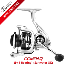 Anyfish COMPAQ Spinning Fishing Reel 1000/2000/3000/4000 model Gear Ratio 5.2:1 max drag 8kg 9+1 bearings reel fishing saltwater