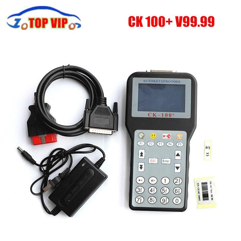 2018 A + + CK100 Auto Key Программист V99.99 SBB Ключевые программист CK100 программирования с многоязычным CK100 + DHL быстрая доставка ...