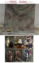 200cmx300cmHand Painted Tye-Die Muslin custom wedding background backdrops,photography backgrounds for photo studio F0376