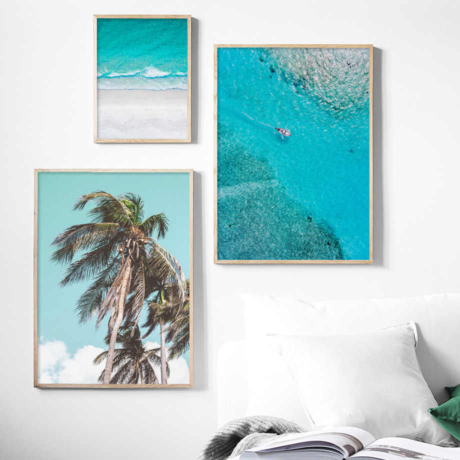 Постеры на стену море