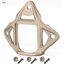 Тактический 3 отверстия Тип 2 скелет NVG крепление кожух для ACH/MICH/OPS-Core FAST/Crye шлем для планера