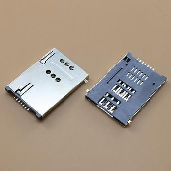 цена YuXi 1pcs/lot Brand New memory card reader holder socket tray slot connector replacement. онлайн в 2017 году
