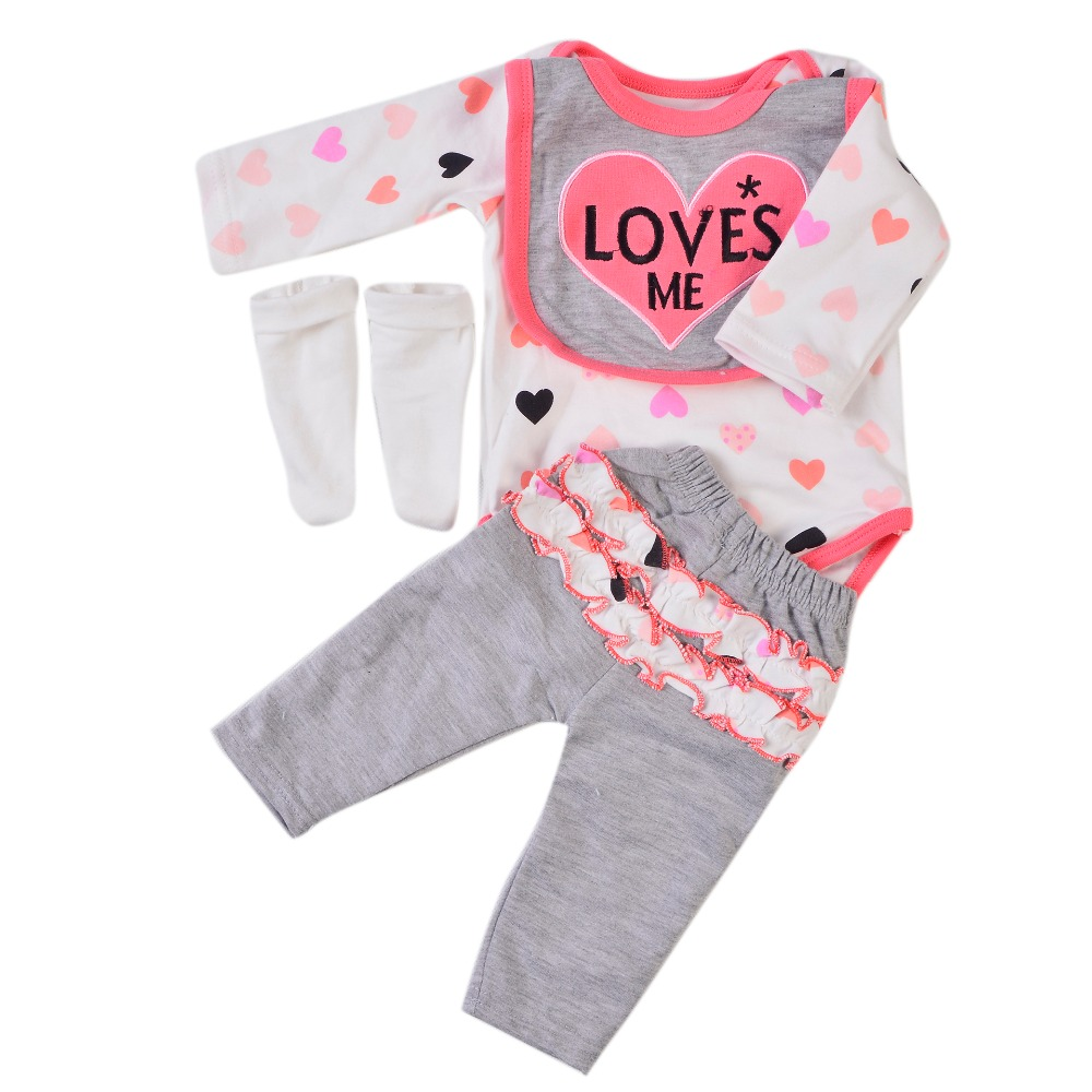 Handmade Baby Doll Clothes For 23 Inch Reborn Doll Pure ...