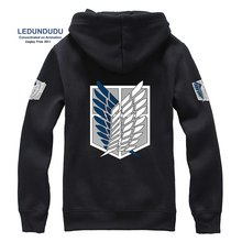 Attack On Titan Cosplay Costumes Jacket Casual Hoodies Sweatshirts Unisex Coat (9 colors)