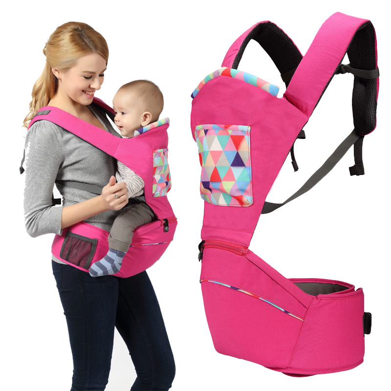 Baby Backpacks Carriers Multifunction Infant Kangaroo Hipseat Toddler Shoulder Sling Ergonomic Baby Front Carrier Wrap Rider baby carrier children waist stools hipseat backpacks for 4 36m baby infant toddler kids four seasons autumn shoulder straps
