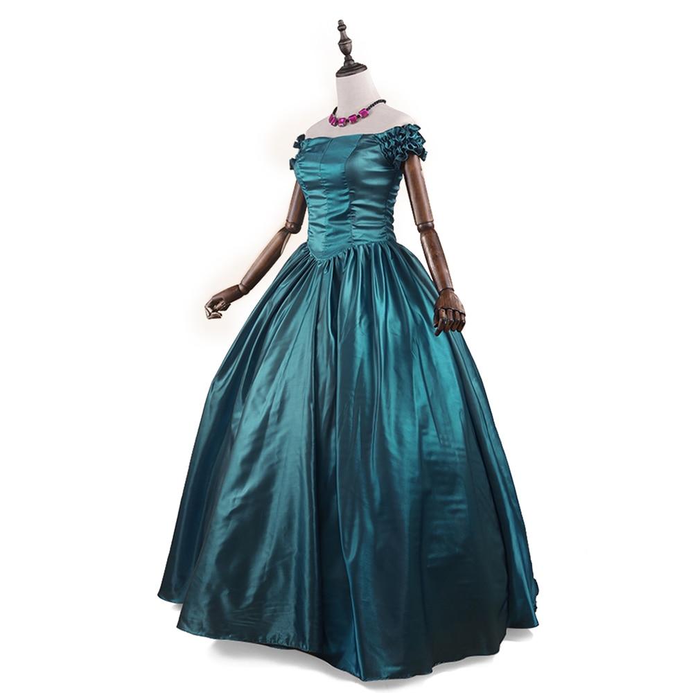 Gothic Victorian Dress Renaissance Party Porm Dress Off shoulder ...