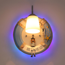 Cartoon deco wall lamp creative children bedroom LED bedside lamp bar club lights home industrial decor lamps hallway lighting
