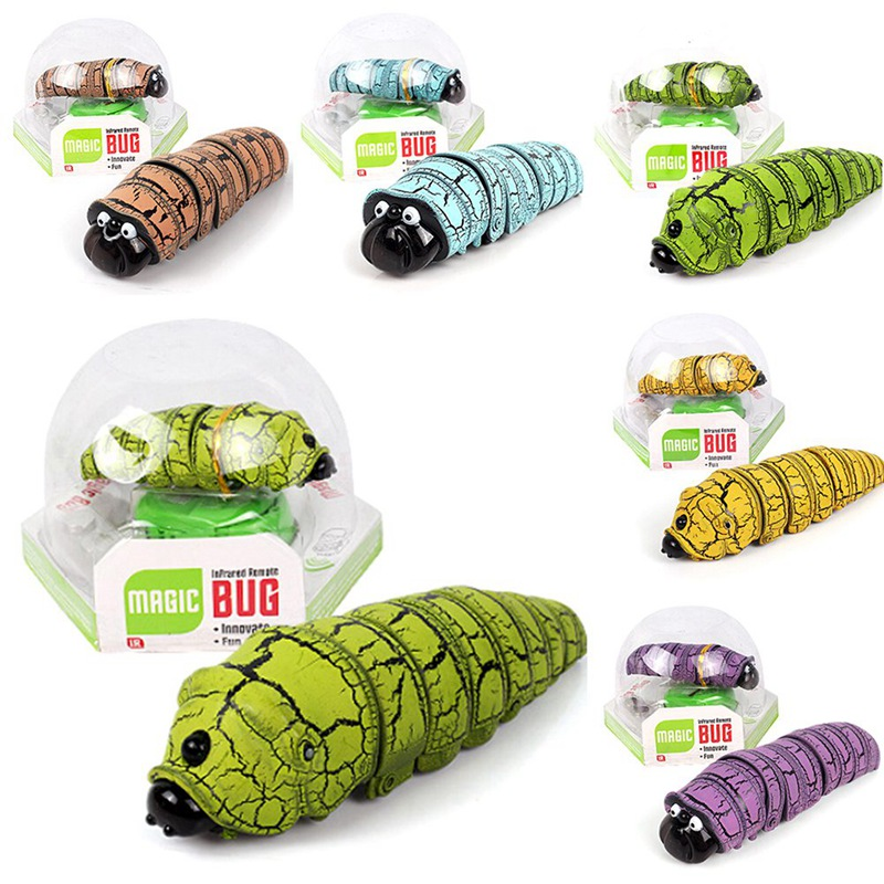 Tricky Creative Simulation Remote Caterpillar  Toy Kids Gift