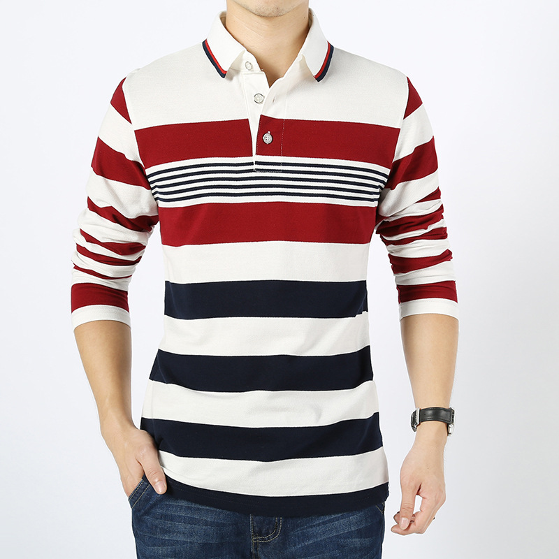 Mens Long Sleeve Polo Shirt Promotion-Shop for Promotional Mens ...
