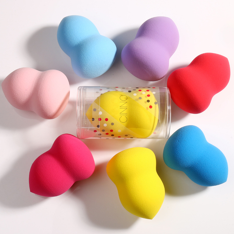 1Pcs Makeup Foundation Sponge Cosmetic Puff Powder Make Up Blender Flawless Facial Beauty Tools Random Color Wholesale