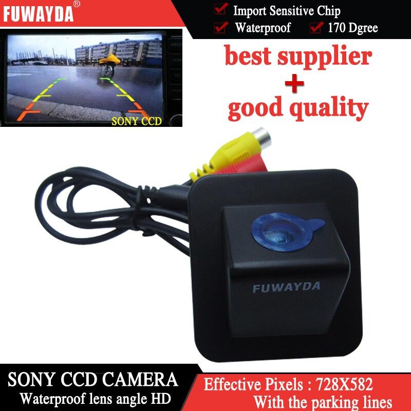 FUWAYDA FOR SONY CCD Car Rear View  Reverse Back Up Parking DVD GPS Navigation Kits CAMERA for Hyundai Elantra Avante 2012 HD