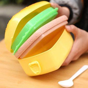 lunch box Hamburger idée cadeau geek